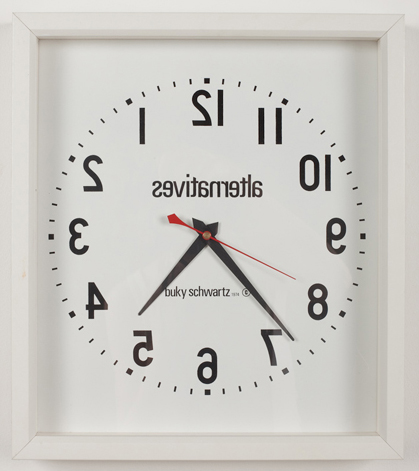 Alternatives (1974), Clock